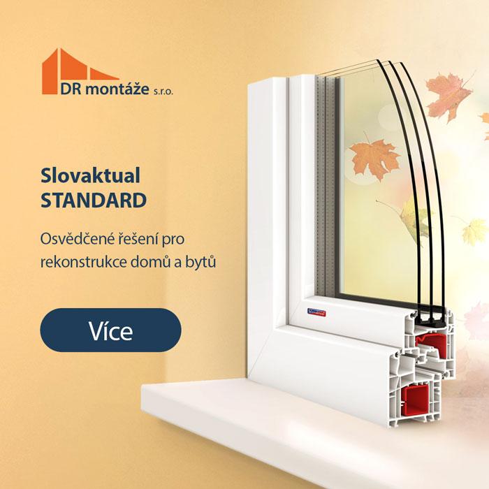 Plastové okno Slovaktual Standard